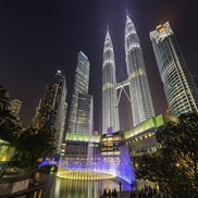 klcc night scene